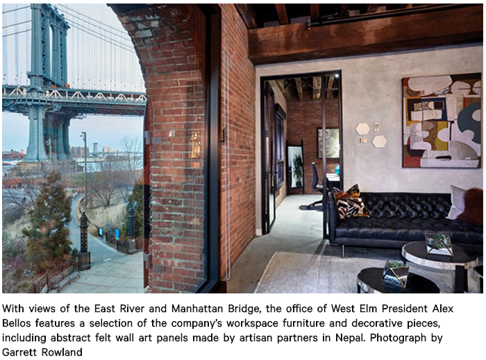 While The Furniture Retailer West Elm Had Established Its Headquarters  Years Ago In The Dumbo Neighborhood Of Brooklyn, New York, It Only Recently  Moved ...